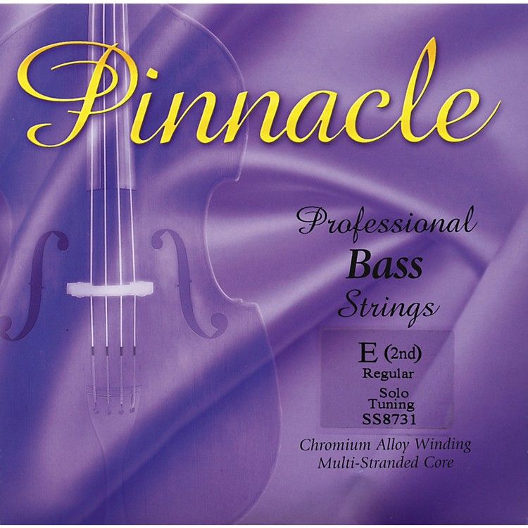 Super SensitivePinnacle Bass StringsE, Solo3/4 Size