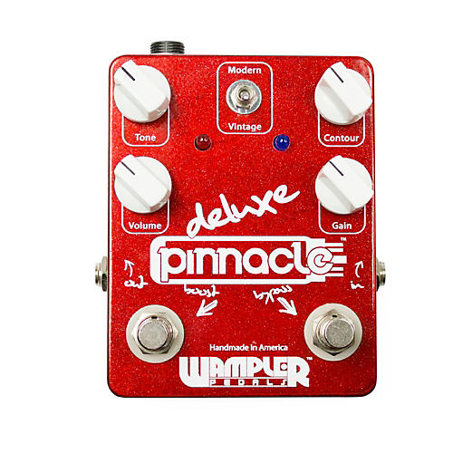 Wampler Pinnacle Deluxe Distortion Guitar Effects Pedal