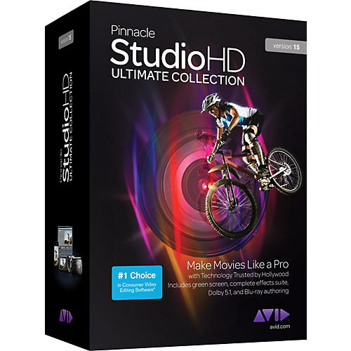 Pinnacle Studio 15 HD Ultimate Collection Software for Sale