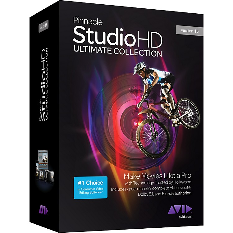 PinnaclePinnacle Studio HD Ultimate Collection Version 15