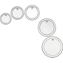Remo Pinstripe Clear 5-piece Tom Drumhead Pack