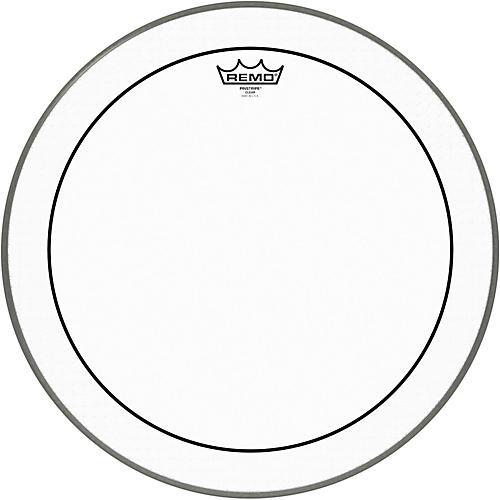 Remo Pinstripe Clear Bass Drum Head