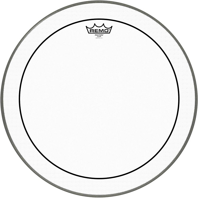 Remo Pinstripe Clear Bass Drum Head  30 Inches