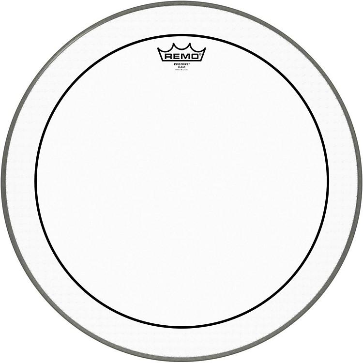 RemoPinstripe Clear Bass Drum Head30 Inches