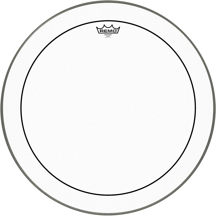 Remo Pinstripe Clear Bass Drum Head  22 Inches