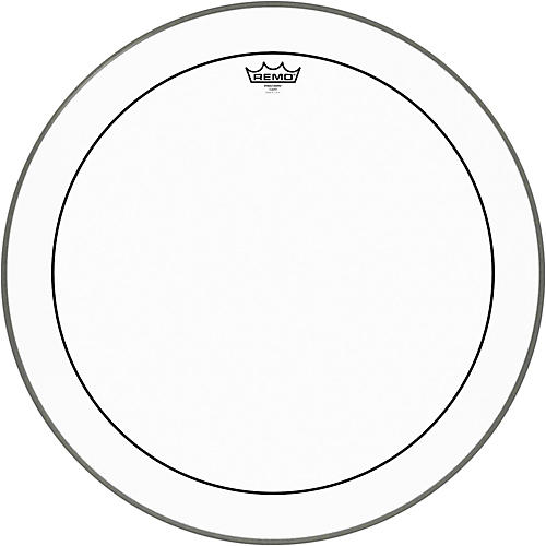 Remo Pinstripe Clear Bass Drum Head  24 in.