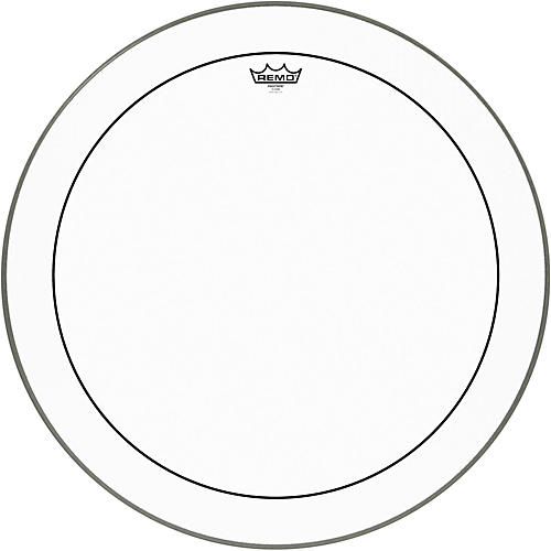 Remo Pinstripe Clear Bass Drum Head  26 in.