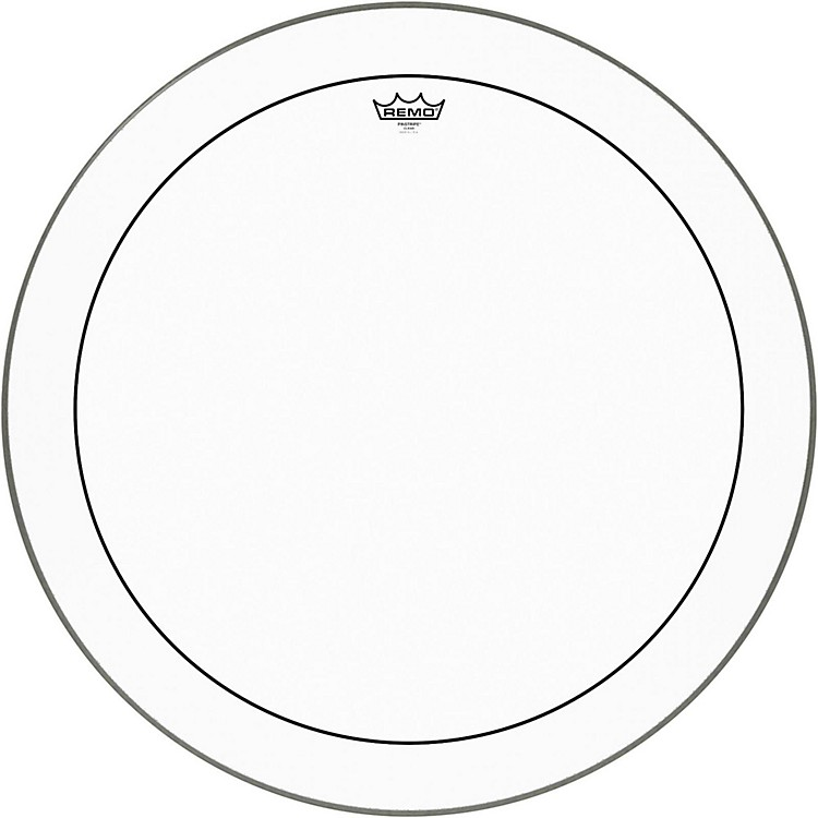 Remo Pinstripe Clear Bass Drum Head  28 Inches