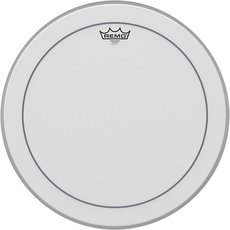 RemoPinstripe Coated Bass Drumhead18 Inches