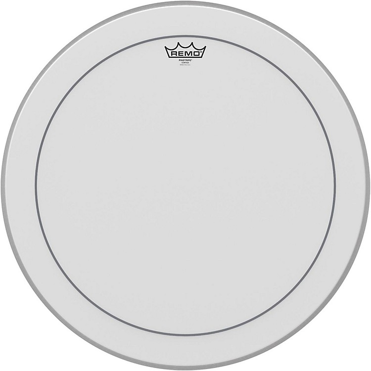 Remo Pinstripe Coated Bass Drumhead  28 Inches