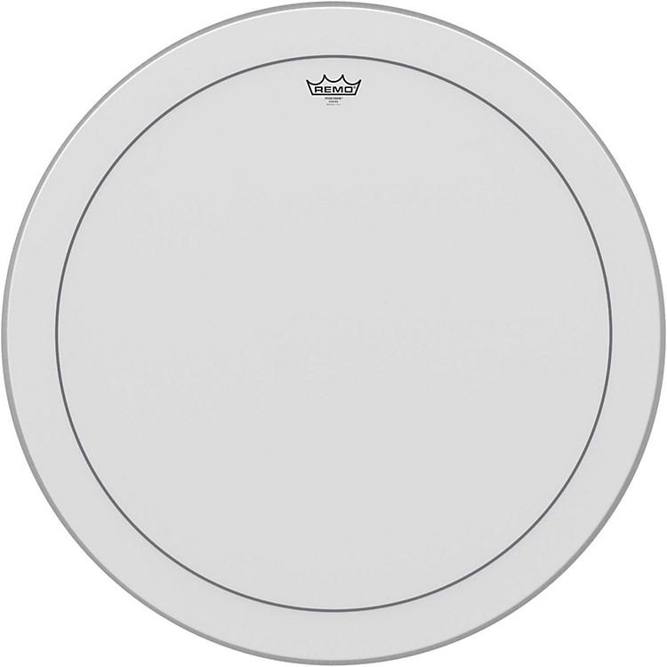RemoPinstripe Coated Bass Drumhead30 Inches
