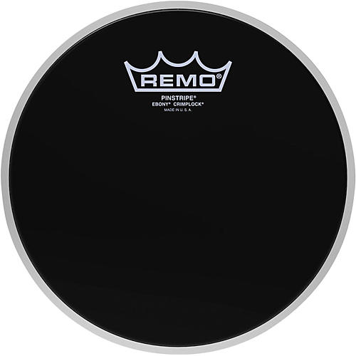 Remo Pinstripe Ebony Crimplock Drum Head-thumbnail