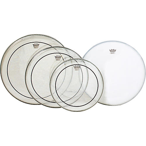 Remo Pinstripe PrePak Drumheads with Coated Snare Head