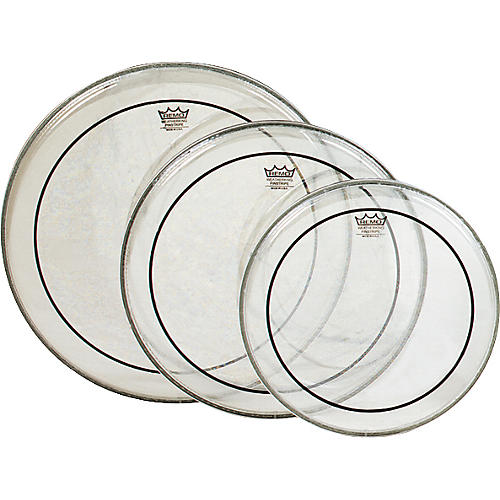 Remo Pinstripe Tom Drumhead Pack Fusion Clear