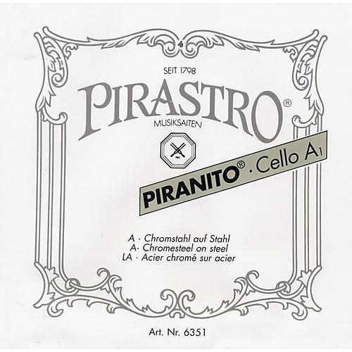 Pirastro Piranito Series Cello D String 1/4-1/8 Size