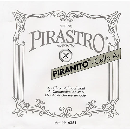 Pirastro Piranito Series Cello String Set 4/4 Size