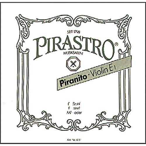 Pirastro Piranito Series Violin E String 1/4-1/8 Ball End