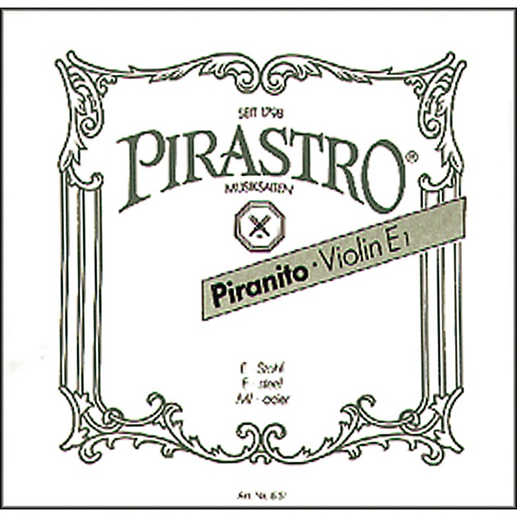 Pirastro Piranito Series Violin E String 1/4-1/8 Ball End