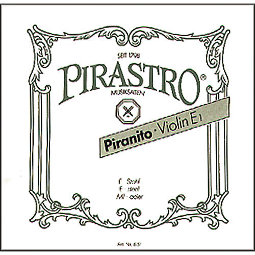 Pirastro Piranito Series Violin E String 3/4-1/2 Ball End