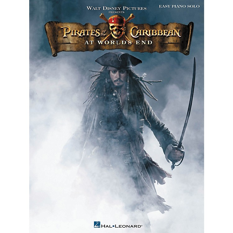 Hal Leonard Pirates Of The Caribbean - At World's End For Easy Piano Solo