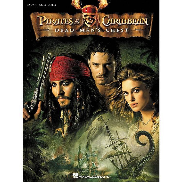 Hal Leonard Pirates Of The Caribbean - Dead Man's Chest For Easy Piano Solo