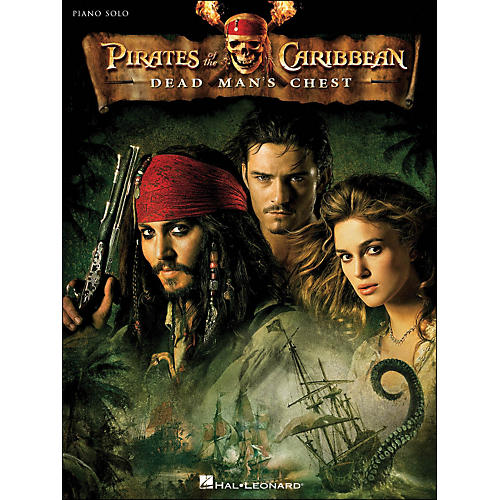 Hal Leonard Pirates Of The Caribbean - Dead Man's Chest Piano Solo-thumbnail