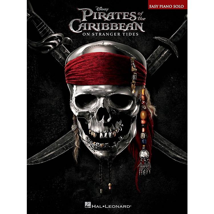 Hal Leonard Pirates Of The Caribbean - On Stranger Tides - Easy Piano Solo