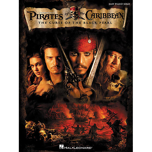 Hal Leonard Pirates Of The Caribbean - The Curse Of The Black Pearl For Easy Piano Solo-thumbnail
