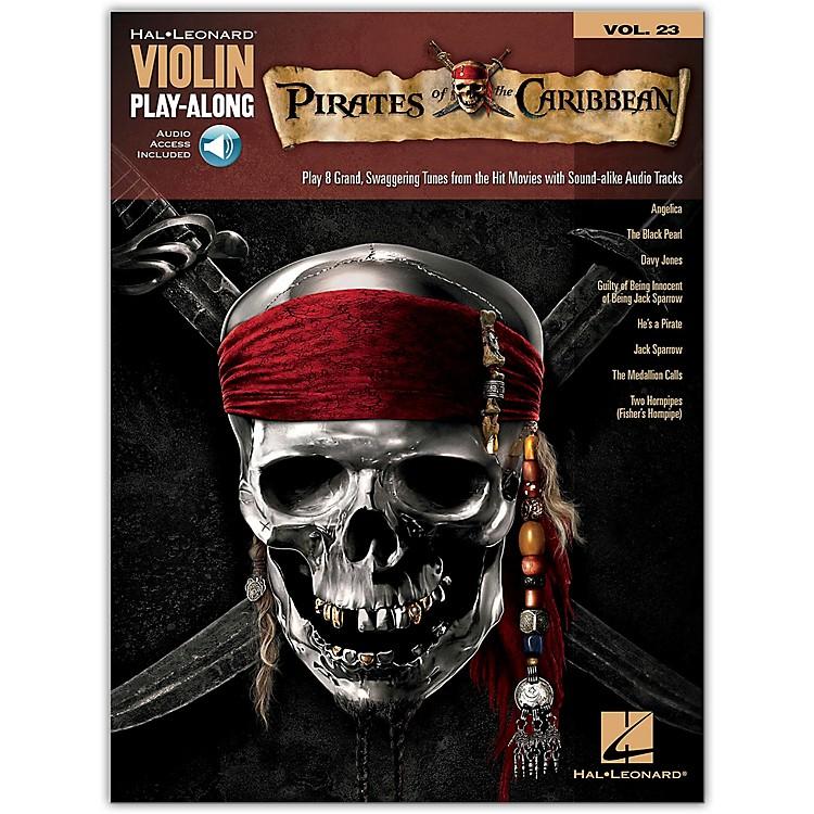 Hal LeonardPirates Of The Caribbean - Violin Play-Along Volume 23 Book/CD