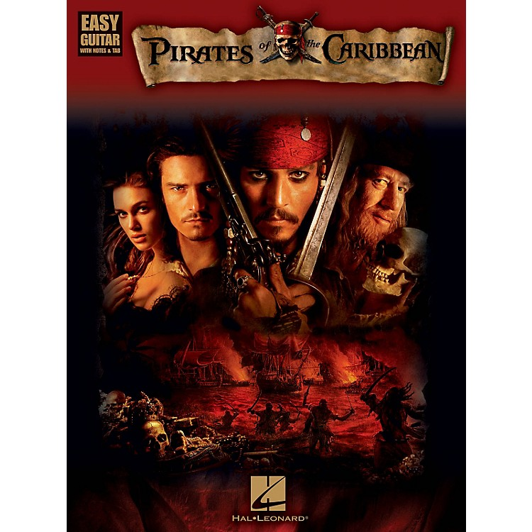 Hal Leonard Pirates Of The Caribbean For Easy Guitar (With Tab)