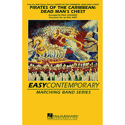 Hal Leonard Pirates of the Caribbean - Dead Man's Chest Marching Band Level 2-3 by Paul Lavender and Will Rapp