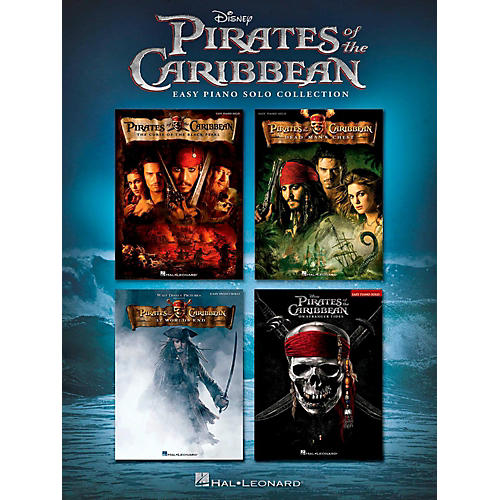 Hal Leonard Pirates of the Caribbean - Easy Piano Solo Collection-thumbnail