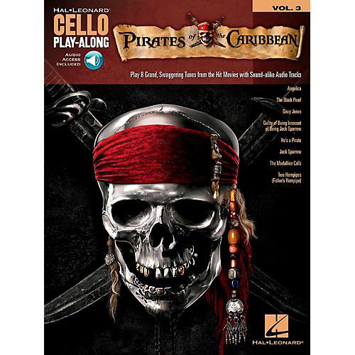 Hal Leonard Pirates of the Caribbean Cello Play-Along Volume 3 Book/Audio Online-thumbnail