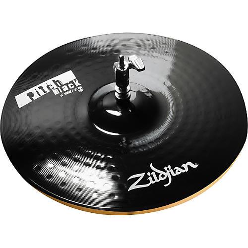 zildjian pitch black hi hat cymbal pair thumbnail