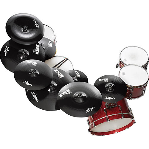 Zildjian Pitch Black Mastersound Hi-hat Top Cymbal