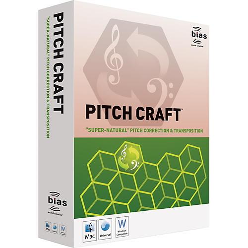 Bias PitchCraft Plug-In Software