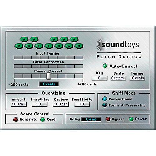 Soundtoys PitchDoctor TDM V4