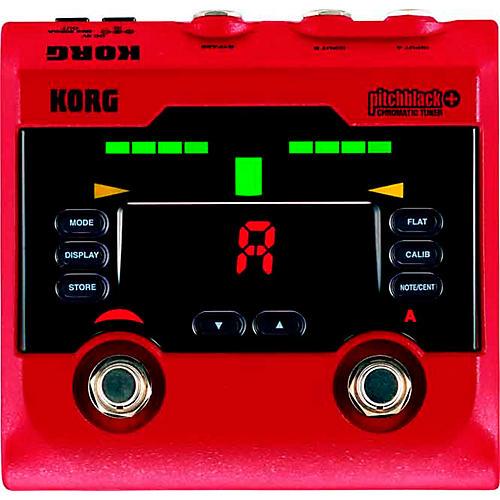 Korg Pitchblack+ Limited Edition Red Pedal Tuner