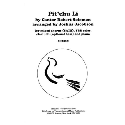 Transcontinental Music Pit'chu Li SATB arranged by Joshua Jacobson