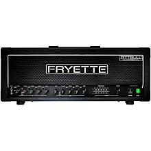 Fryette Pittbull Hundred/CL G100CL/EQ 100W Tube Guitar Amp Head Black