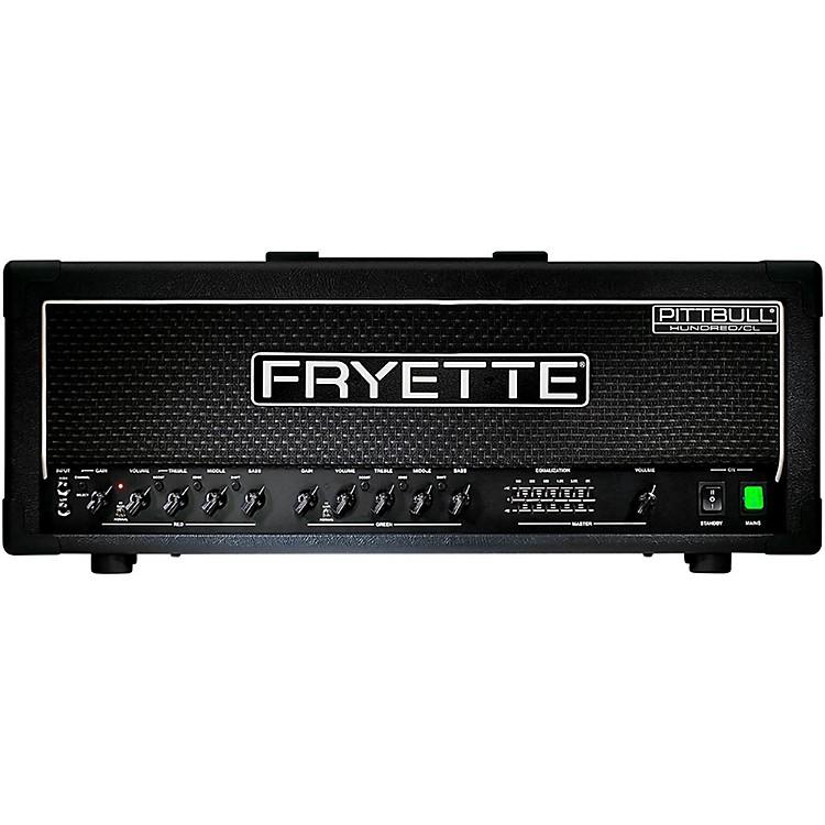 FryettePittbull Hundred/CL G100CL/EQ 100W Tube Guitar Amp Head