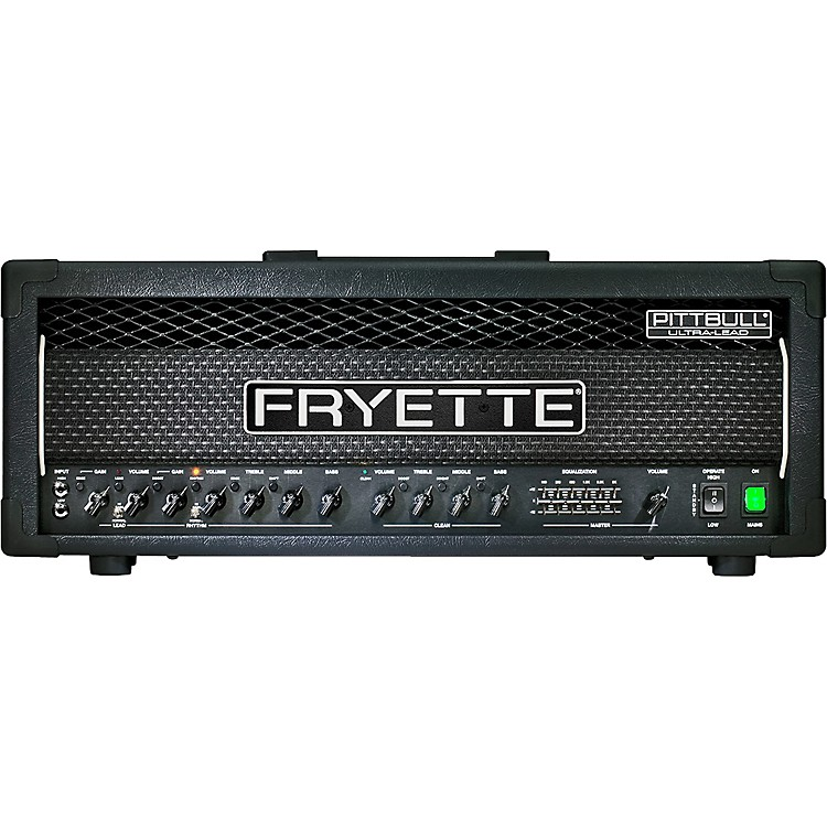 Fryette Pittbull Ultra-Lead G100UL/EQ 120W Tube Guitar Amp Head
