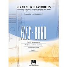 Hal Leonard Pixar Movie Favorites Concert Band Level 2-3 Arranged by Michael Brown