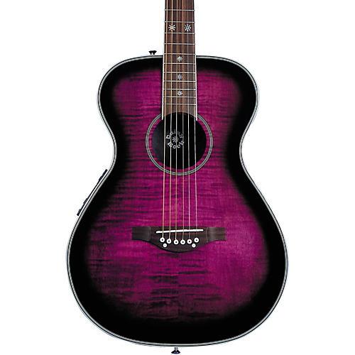 Daisy Rock Pixie Acoustic-Electric Guitar Plum Purple Burst