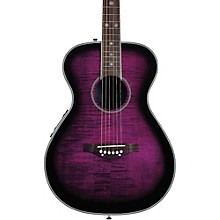 Daisy Rock Pixie Acoustic-Electric Guitar Plum Purple Burst