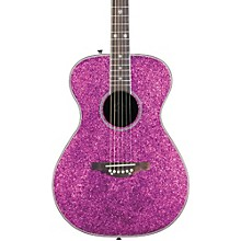 Pixie Acoustic Guitar Pink Sparkle