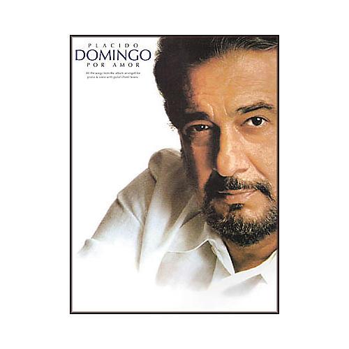 Hal Leonard Placido Domingo - Por Amor Piano, Vocal, Guitar Songbook-thumbnail
