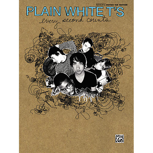 Alfred Plain White T's - Every Second Counts Guitar Tab Book-thumbnail