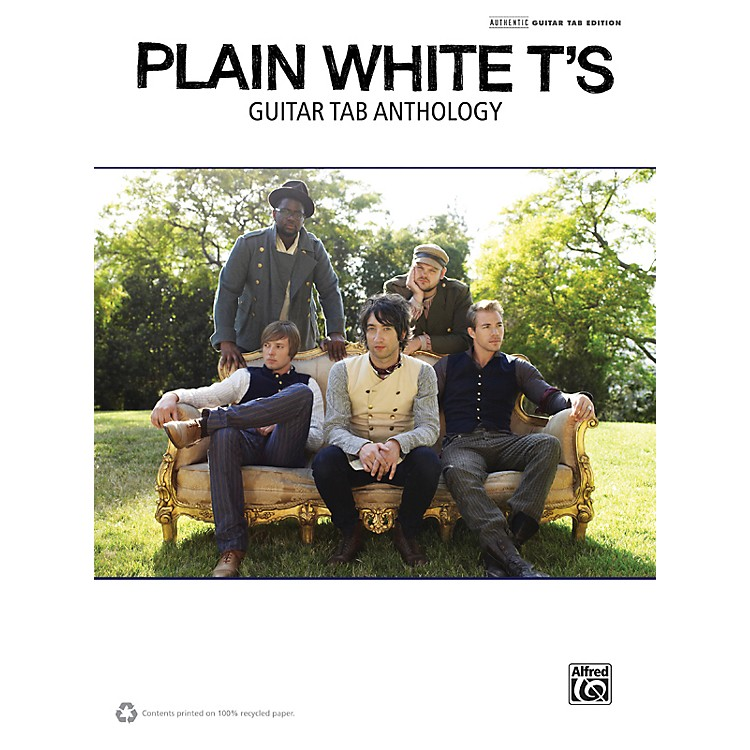AlfredPlain White T's Guitar TAB Anthology Book