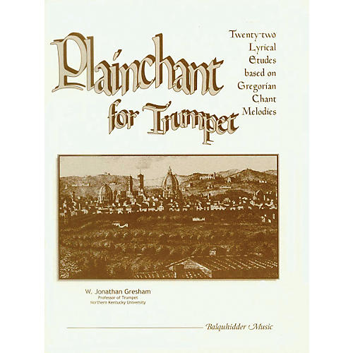 Carl Fischer Plainchant for Trumpet Book